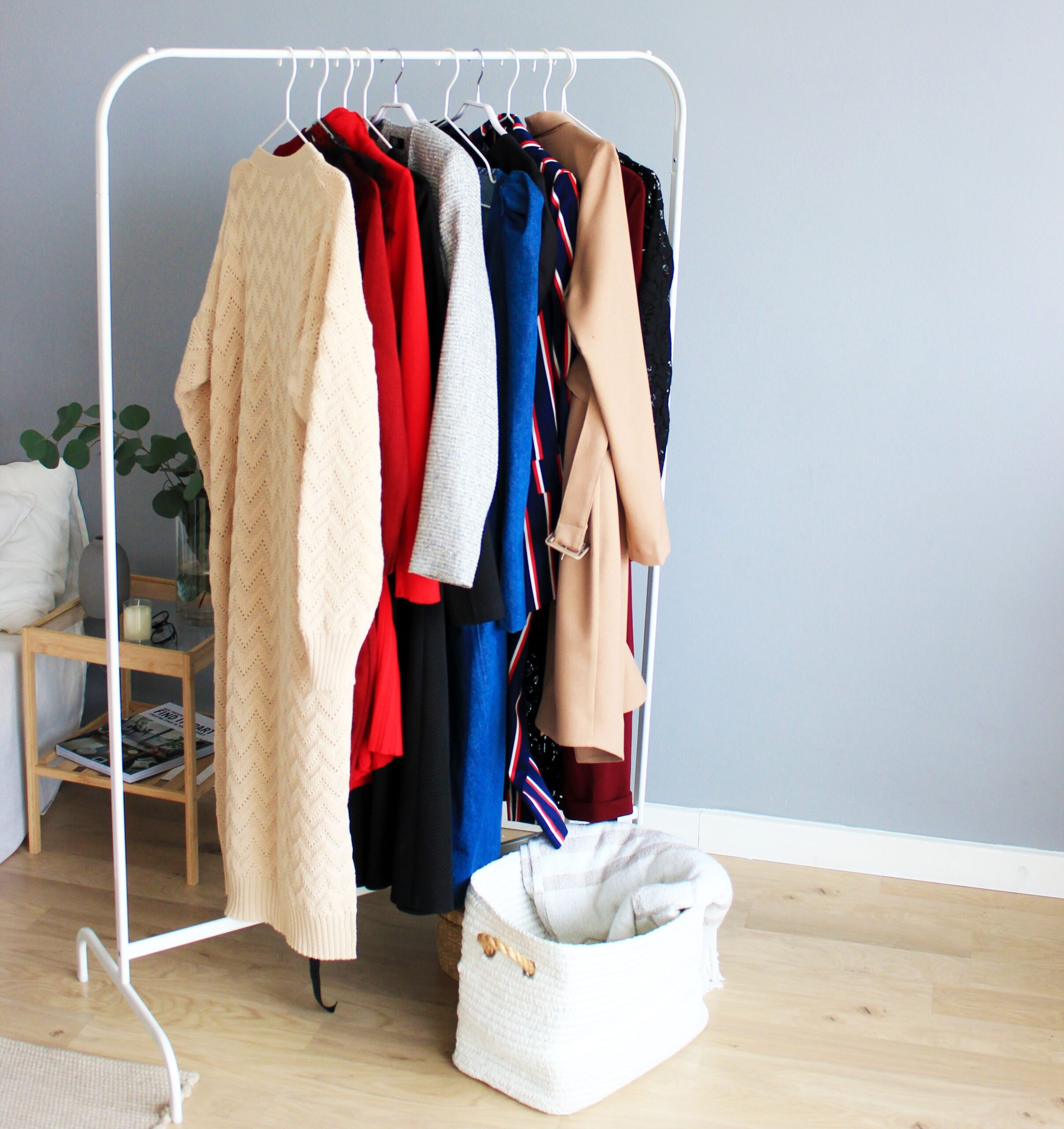 drying hanging clothes